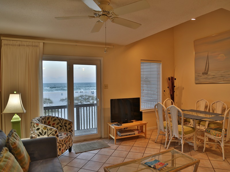 Ocean Reef 802 - Open Living Area w/great gulf views!