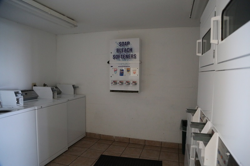 Washer and dryer facility