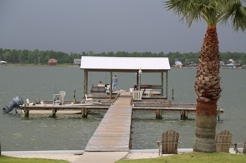 Fishing pier and dock