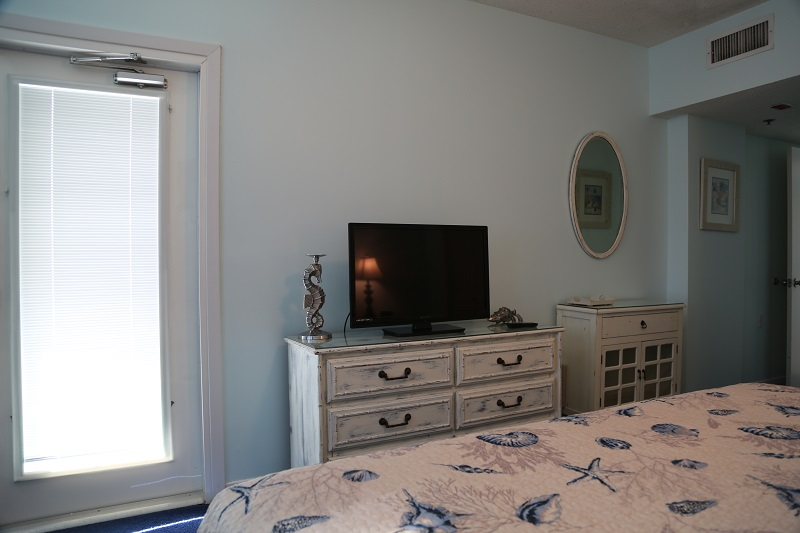 Flat Screen TV in Master BR