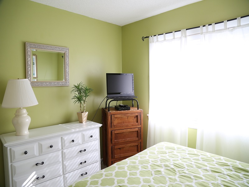 Master bedroom - tv