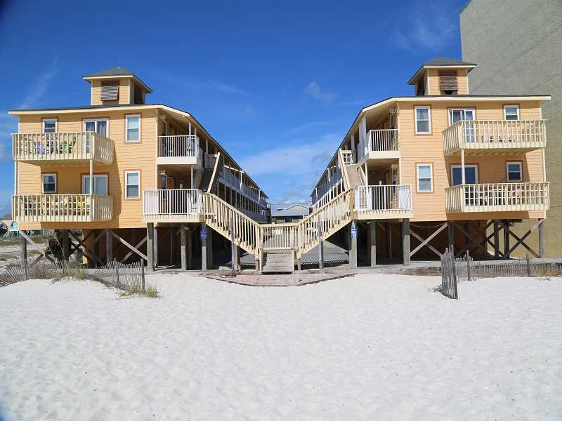 Only steps onto the sugar white sand!