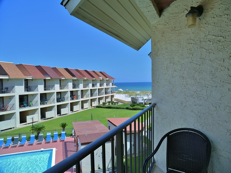 View from Master Bedroom balcony