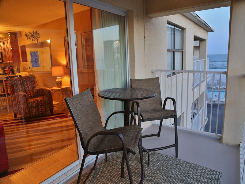 Harbor House B20 - Private Balcony with seating for 2