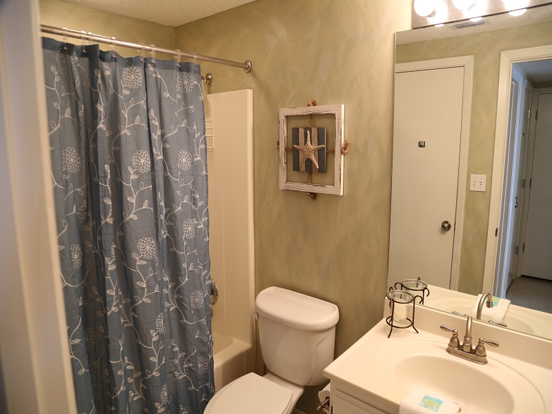 Second bathroom - can be accessed from bedroom and hall