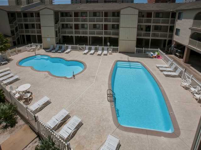 Pool Deck with 2 Pools