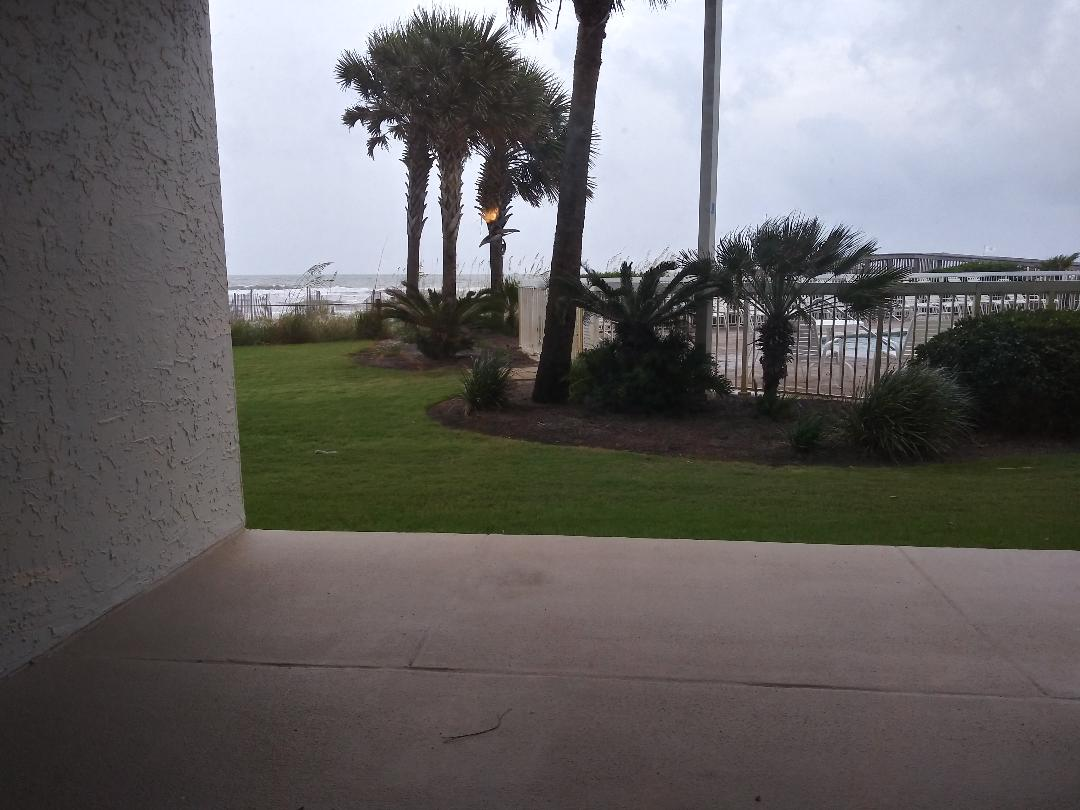 Ground floor, beach front, walk out to the beach & pool!  So convenient!