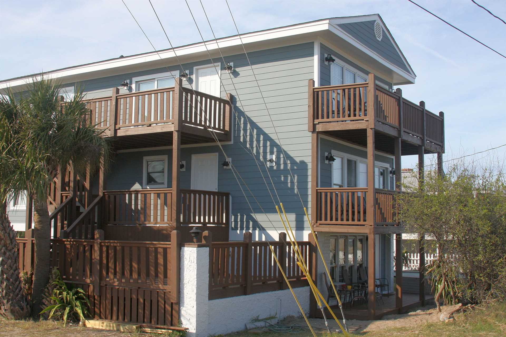 Ocean Front Rental 101 Vacation Apartment For Rent Tybee Island Savannah Beach Georgia