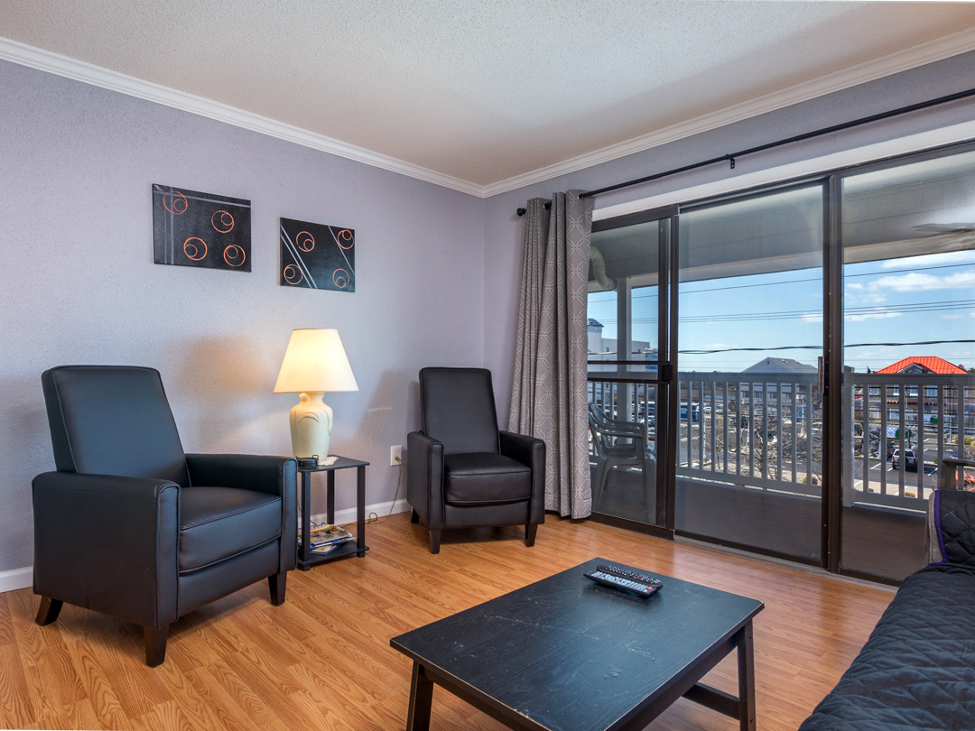 Ocean City 1 bedroom condo rental perfect for a small family vacation