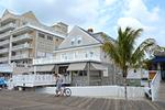 Large 7 bedroom Ocean City Maryland vacation home on the boardwalk across from beach