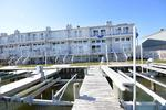 Ocean City Maryland 3 bedroom bay side condo rental with boat dock sleeps 10
