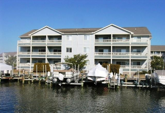 Baywatch III a 3 bedroom Ocean City MD condo rental with pool and boat dock