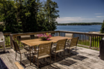 Boothbay Harbor vacation home with water views
