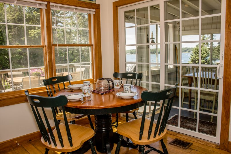 Maine vacation rental home with water views in Boothbay Harbor