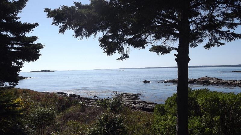 Oceanfront vacation rental in Southport Island, ME