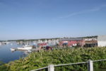 Downtown vacation rental in Boothbay Harbor, ME with waterviews