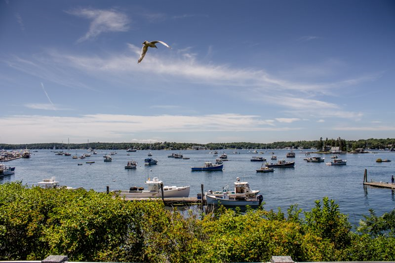 vacation rental in downtown Boothbay Harbor