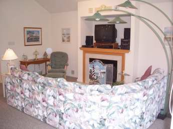 Living area also