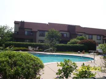 exterior front and pool