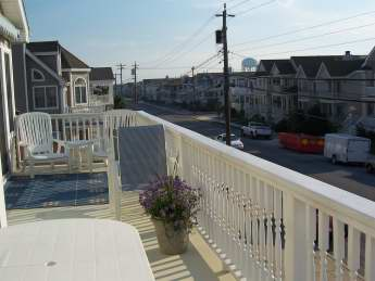 front porch view to south