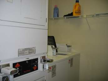 common washer dryer area