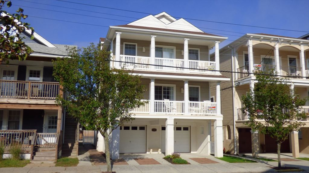 New Construction 3 bedroom 2 full bath within a block to the beach and boardwalk.
