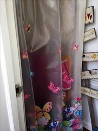Shower Outside Totally Enclosed