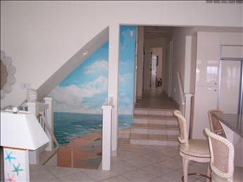 entry stairs and bedroom stairs