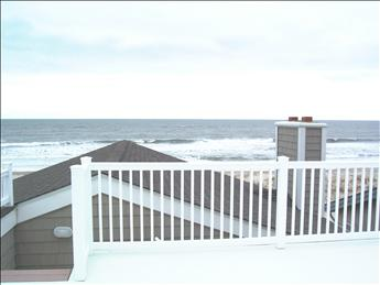 ocean view from roof top deck