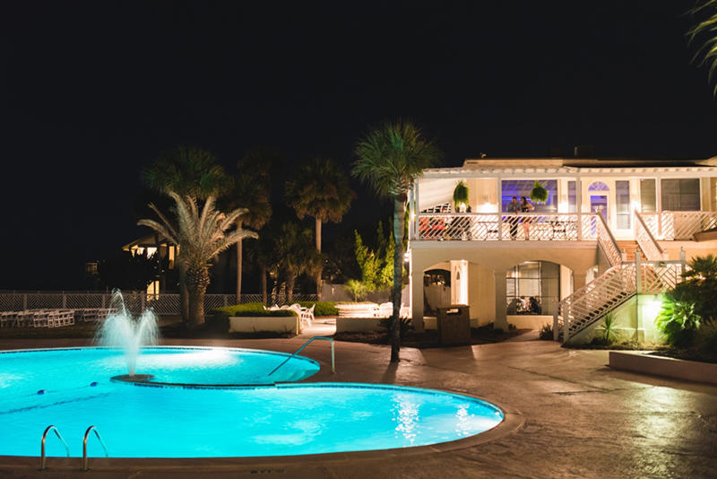 The Beach Club and Adult Pool are centrally located.