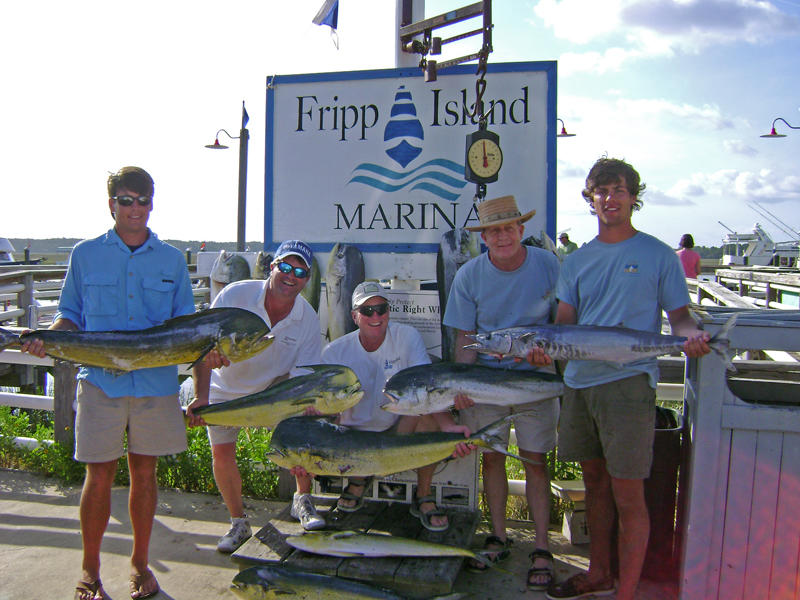 The waters surrounding Fripp Island are a saltwater paradise.
