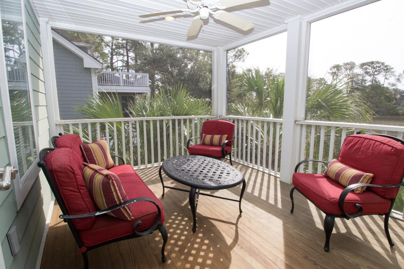 First floor screened porch