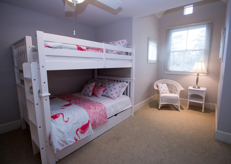 2nd Floor Bunk Room with Full Beds and a Trundle