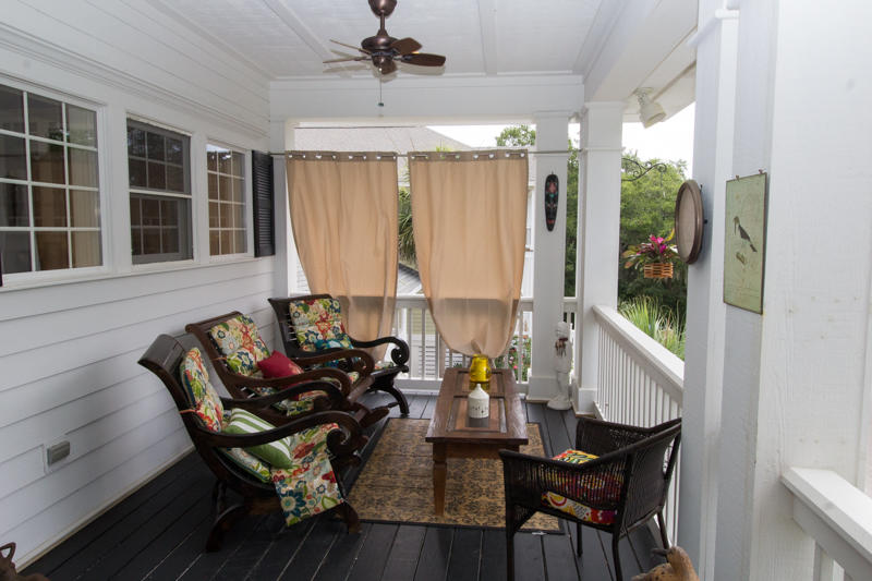 Second floor front porch