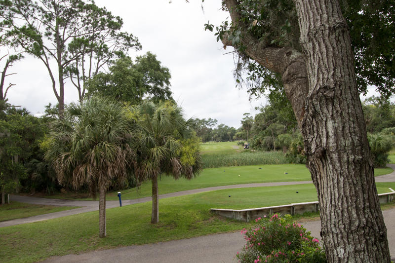 Front porch view of Ocean Creek Golf Course