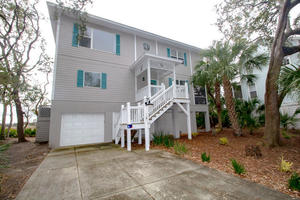 Fripp Island South Carolina 4 bedroom house for rent on vacation with golf cart