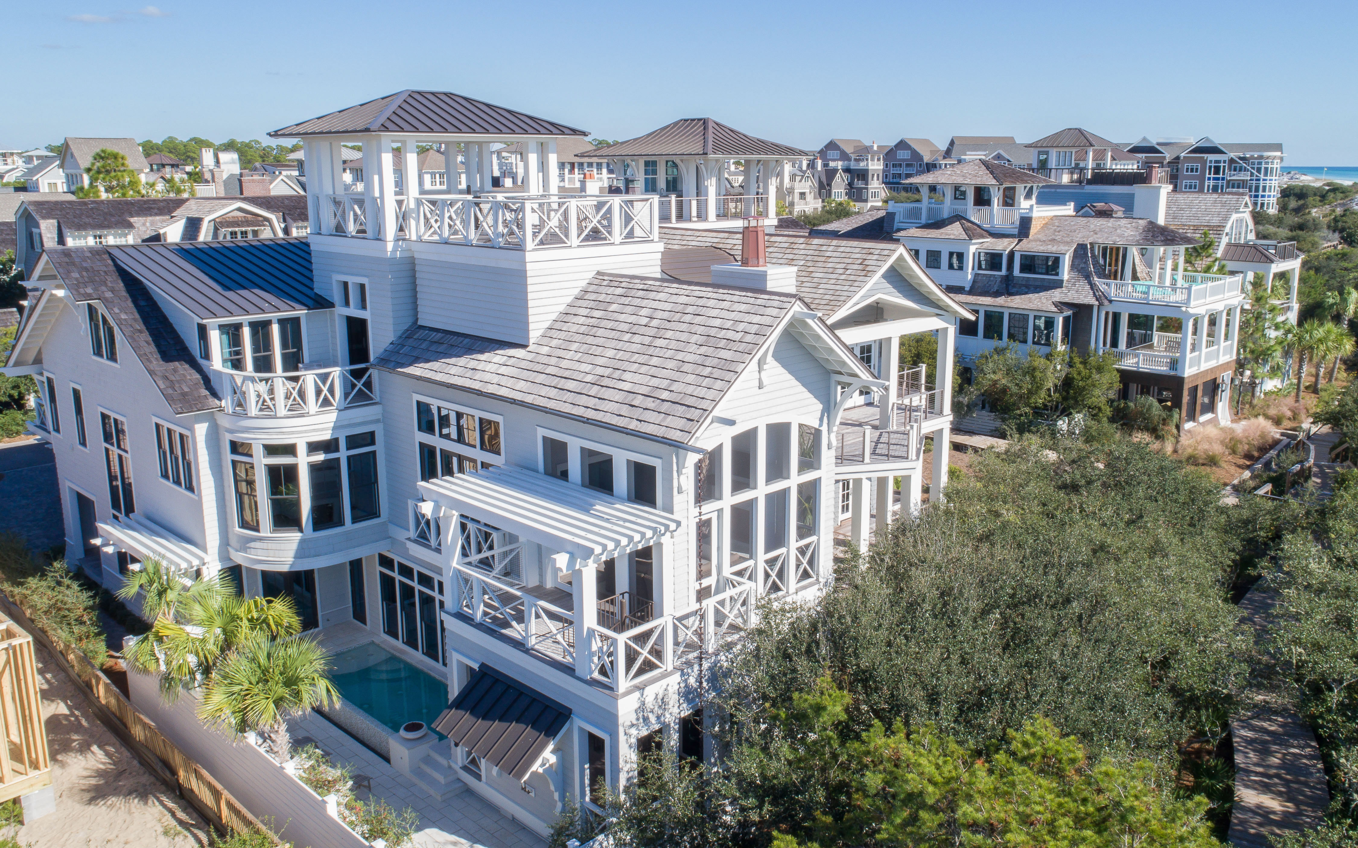 Watersound Beach Gulf Front Offering 5 Bedrooms Private 119979 Fr