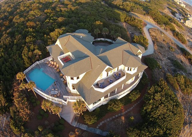Bald Head Island 6 bedroom ocean view vacation home with pool