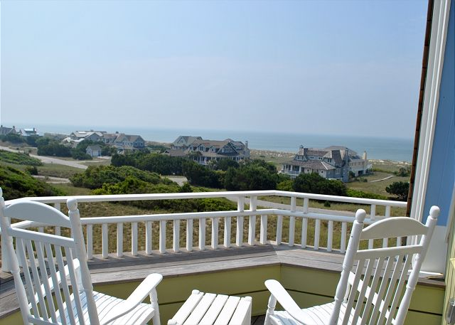 Ocean view 7 bedroom Bald Head Island Large family vacation home