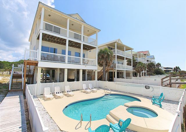 Excellent Beach Blessing 5 Bedroom Vacation Home Rental Cape San Blas Home Remodeling Inspirations Genioncuboardxyz