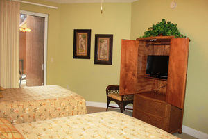 Addtional View of Guest Room w/ Flat Screen TV