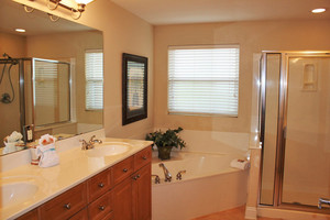 Large Master Bath w/ Seperate Shower
