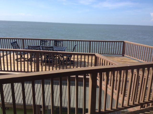 Cool breezes and views from this private porch