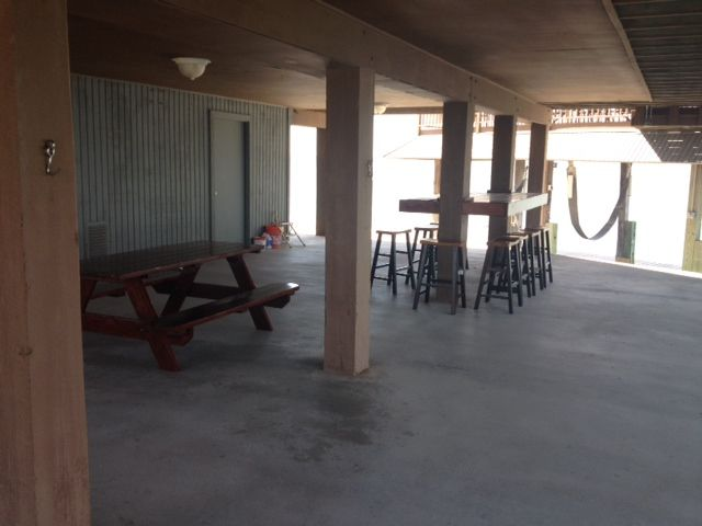 Great area one first level. BBQ, fish or just sit back and enjoy the cool breeze