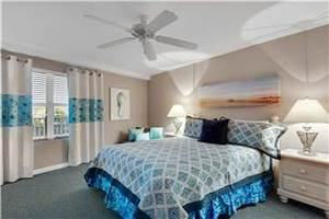 Guest Bedroom with Queen Bed and Twin Sleeper
