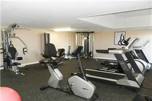 Complex fitness room