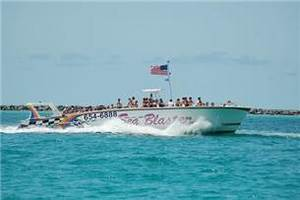 Free admission on Destin's Original Sea Blaster – Dolphin Cruise