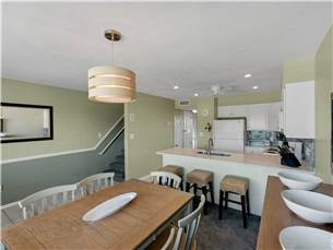 Well Appointed Dining Area and Upgraded Kitchen