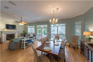 Living and Dining Areas on 1st Floor