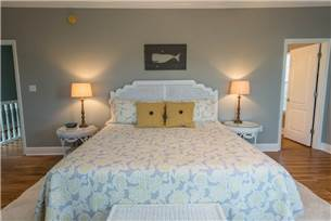Master Bedroom with King Bed on 2nd Floor
